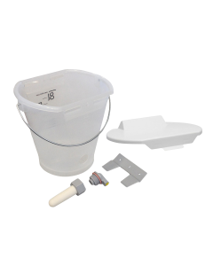 Hiko Speenemmer met deksel | 8 liter | transparant | compleet