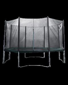 Airlife Trampoline met veiligheidsnet 370cm | Super Zwaar