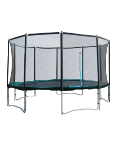 Airlife Trampoline met veiligheidsnet 460cm | Super Zwaar | Carbon