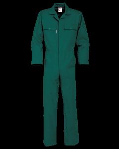 afbeelding_Overall groen drukknoop polyesterkatoen Havep BTN de Haas