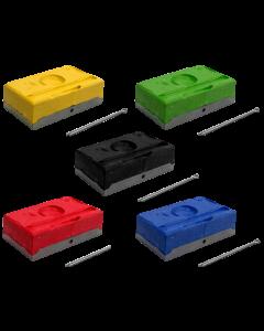 Raidex dekblokken diverse kleuren
