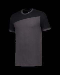 Tricorp T-Shirt | 102006 | Donkergrijs-Zwart bi-color Naden | BTN de Haas