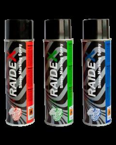 Veemerkspray RAIDEX 500 ml   diverse kleuren BTN de Haas