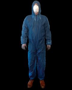 Wegwerpoverall polypropyleen | rits | blauw | BTN de Haas